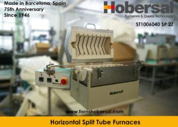 Hobersal Split tube furnace ST100