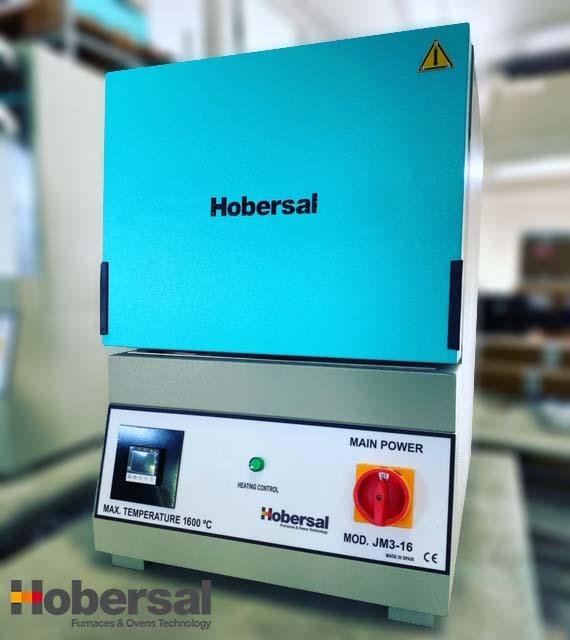 Horno de mufla alta temperatura Hobersal JM