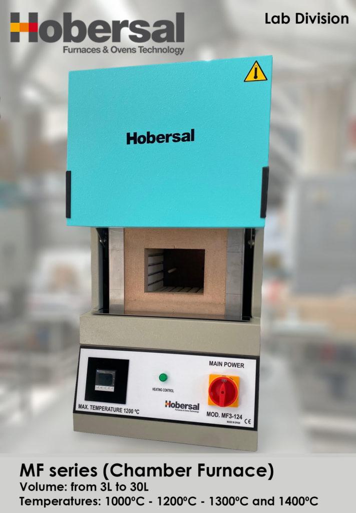 Horno de mufla MF Hobersal