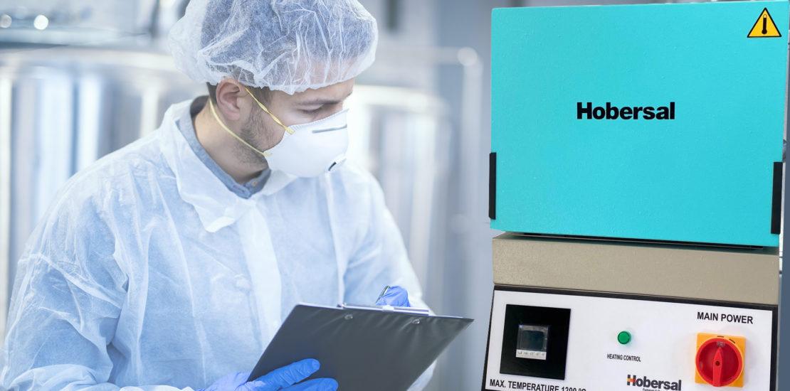 Horno de mufla para laboratorio Hobersal