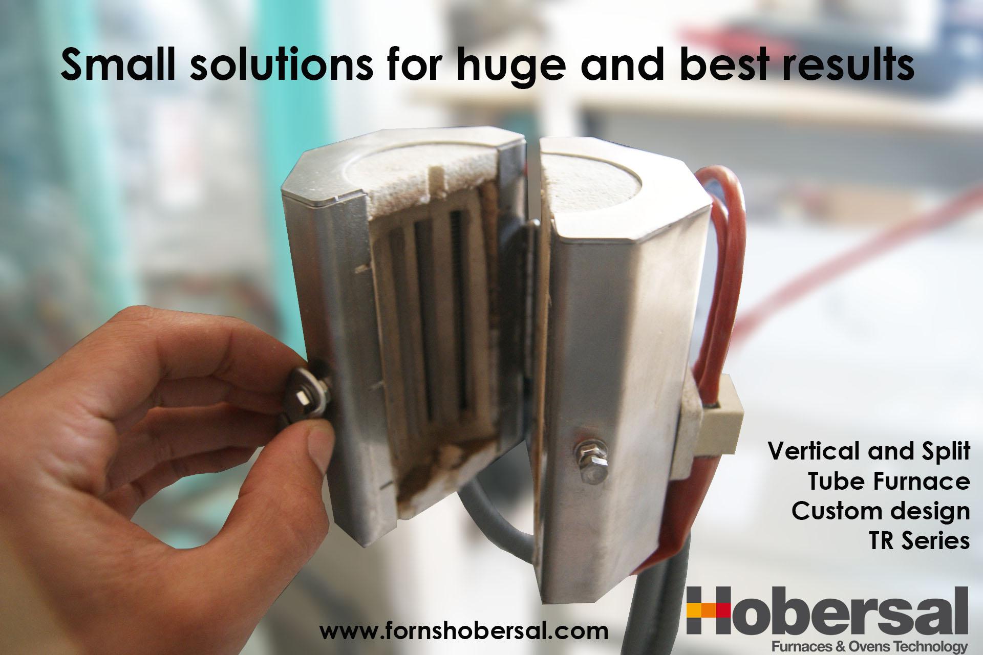 TR-0-0 Hobersal horno de tubo vertical abierto small